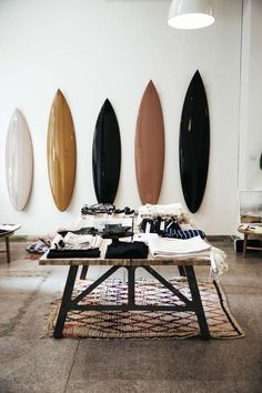 Start by liberating your interior design from .Start by liberating your interior design at . - Design Interior liberating Shop startedLittle Ink Empire surf wall art Start with the liberation Surf Decor, Decoration Surf, Surf Style Decor, Surfboard Decor, Surfboard Shop, Style Surf, Deco Surf, Decor Interior Design, Interior Decorating