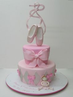 ballet cake by cherie.. This is sooo pretty I love it
