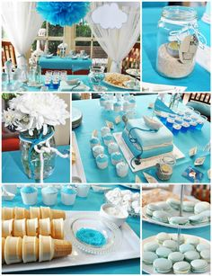 Paper Boat Birthday Party with Lots of REALLY CUTE IDEAS