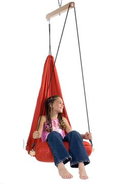 This Hanging Chair Is Like A Chic, Indoor Hammock. | Swing Chairs |  Pinterest | Hanging Chair And Indoor Hammock