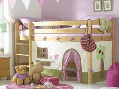 Современные детские комнаты для девочек фото