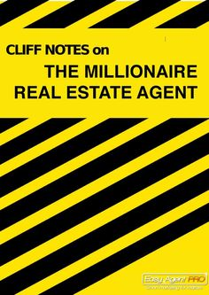 Cliffnotes Version - The Millionaire Real Estate Agent. Read the top quotes and see the top charts today! #realestate #realtor