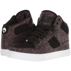 Osiris NYC83 VLC (Abel/Money/Rose) Men's Skate Shoes ($53) ❤ liked on Polyvore featuring men's fashion, men's shoes, men's sneakers, mens skate shoes, osiris mens shoes, mens sneakers, taryn rose mens shoes and mens shoes