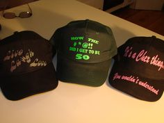 Add your own designer cap to your bar collection