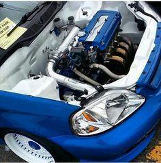 Civic clean engine bay