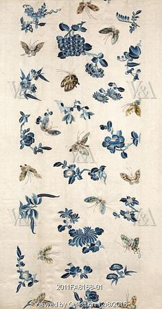 Textile for a sleeve. China, 19th century