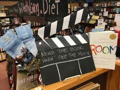 We encourage readers to read the book and THEN see the movie! Our latest novel turned major motion picture is Room. Brie Larson stars in the moving novel about a boy and his mother trapped in an 11x11 foot prison in which they call Room. #Room #BrieLarson