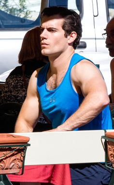 Henry Cavill. Arms. Swoon!