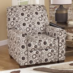 Cybertrack - Chocolate Low Leg Recliner by Signature Design by Ashley