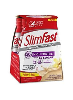 Cheap Slim Fast Advanced Nutrition Meal Replacement Shake High Protein Vanilla Cream 11 Ounce 4 Count (Pack of 3) http://10healthyeatingtips.net/cheap-slim-fast-advanced-nutrition-meal-replacement-shake-high-protein-vanilla-cream-11-ounce-4-count-pack-of-3/