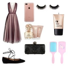 """""""#dreamydress"""" by madisoncooper5 ❤ liked on Polyvore featuring H&M, Gianvito Rossi, Belkin, Vince Camuto, Charlotte Russe and Alexander McQueen"""