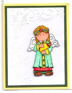 Christmas Angel Handmade Card