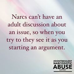 So very true.my ex husband was constantly flipping everything back. There was no adult discussion. For years there was, until phase 2 of the narcissist began. Narcissistic People, Narcissistic Mother, Narcissistic Behavior, Narcissistic Abuse Recovery, Narcissistic Personality Disorder, Narcissistic Sociopath, Abusive Relationship, Toxic Relationships, Relationship Quotes