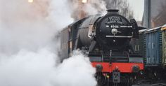 But a warning has been issued to anyone thinking of trespassing..Best places to see the Flying Scotsman in North Wales - Daily Post..jun16