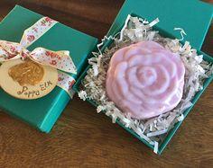 Vintage Rose soap with Pink Himalayan Salt - VEGAN