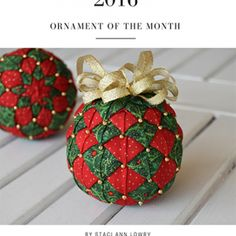 April, 2017 – The Snowflake Pattern – eBook Quilted Fabric Ornaments, Quilted Christmas Ornaments, Handmade Christmas, Christmas Tree Decorations, Christmas Crafts, Ribbon Crafts, Beaded Crafts, Holiday Crafts, Snowflake Pattern