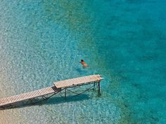 Amazing And Beautiful Beaches In Greece-Valtos Beach Parga Greece Beaches In The World, Places Around The World, Around The Worlds, Santorini Villas, Myconos, Mykonos Island, Greece Islands, Crystal Clear Water, Beautiful Beaches