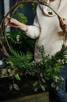A Daily Something   A Daily Gathering   Natural Decor + Beeswax Workshop
