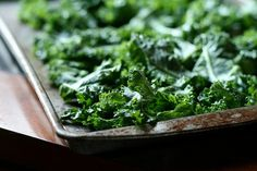 Salt and Vinegar Kale Chips - winner recipe! Especially with the dehydrator. Yeah, it takes more time, but they don't burn and taste like death. I used white wine vinegar, I could use a little more next time.