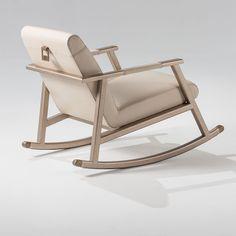 Eduardo Rocking Chair 130 - Adriana Hoyos Furnishings