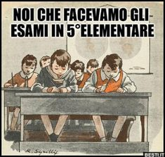 Noi che facevamo gli esami Planet 1, Good Old Times, Vintage School, Infancy, My Childhood Memories, Time Capsule, Vintage Photography, Little Pony, Funny Cute