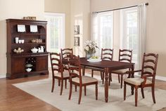 7Pc Dining Set- BEL Furniture Houston & San Antonio