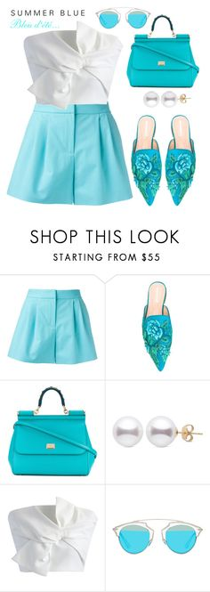 """""""#short#hookedonstyle"""" by liligwada ❤ liked on Polyvore featuring Boutique Moschino, Alberta Ferretti, Dolce&Gabbana, Chicwish and Christian Dior"""