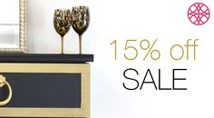 Sale May 9 to May 17  Use Code: MOM15  15% discount on your O'verlays  purchase. Start your next interior design furniture DIY project.