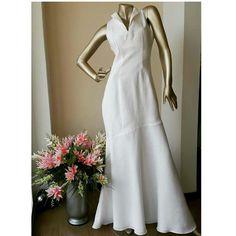 Maxi vestido en lino