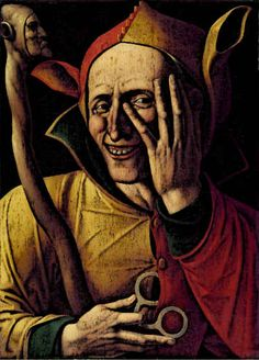 The Laughing Jester, Century, Art Museum of Stockholm, Sweden Medieval Jester, Medieval Art, Poetry Competitions, Viking Museum, Comic Text, Court Jester, Tudor Rose, Don Quixote, Schmuck
