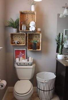 With DIY, you don't require to buy every little thing in your bathroom to look amazing. You can use this DIY bathroom ideas for your own creation. Bathroom Towel Storage, Diy Bathroom Decor, Budget Bathroom, Simple Bathroom, Bathroom Shelves, Diy Home Decor, Bathroom Ideas, Bathroom Organization, Organization Ideas