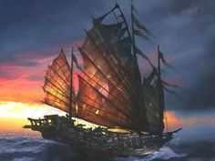Enjoy a Gallery of 60 Original Concept Art Gallery made for Pirates of The Caribbean. The gallery is featuring artworks from Aaron McBride, Nathan Pirate Boats, Pirate Art, Pirate Life, Sea Pirates, Pirates Of The Caribbean, Chinese Boat, Junk Ship, Bateau Pirate, Concept Art Gallery