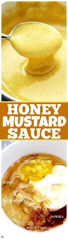Honey Mustard Sauce Recipe - You are only 6 ingredients away from making your…