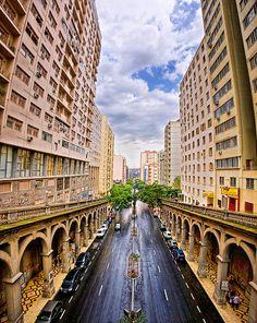 Avenida Borges de Medeiros, Porto Alegre, Brazil                                                                                                                                                                                 Mais