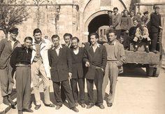 Први регрути из Београда 1947.год полазе на зборно место | Министарство одбране Републике Србије