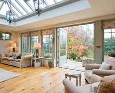 Awesome Roof Lantern Extension Ideas - The Urban Interior Garden Room, House Design, Roof Lantern, Bungalow Extensions, House, Home, Orangery Extension Kitchen, New Homes, Urban Interiors