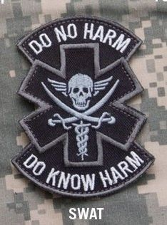 Rock & Pop Music Memorabilia Do Know No Harm Spartan Medic Emt Us Army Tactical Morale Badge Patch Delicious In Taste