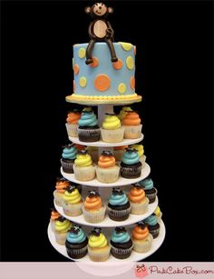 Smash Cake and Cup cakes