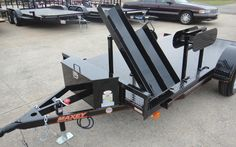 Welding Trailers - We can special order any size trailer to fit your needs! Welding Set, Welding Rigs, Metal Welding, Work Trailer, Trailer Build, Utility Trailer, Welded Metal Projects, Welding Projects, Welding Ideas