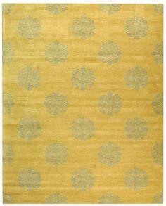 RugStudio presents Rugstudio Sample Sale 95840 Beige Hand-Tufted, Best Quality Area Rug