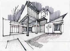 Modern Architecture Drawing architectural drawing | practice #4 - youtube | architecture