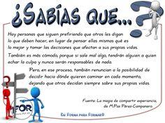 Formar en la #responsabilidad #enformaparaformar #formaciondeformadores