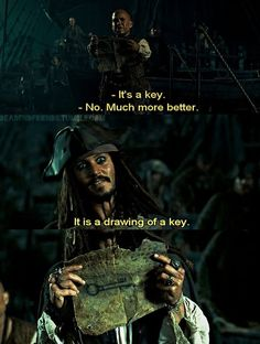 I know. I'm on a Sparrow kick. I can't help it. Just always make my laugh and I thought maybe you might need a laugh too. #JackSparrow #PiratesoftheCaribbean