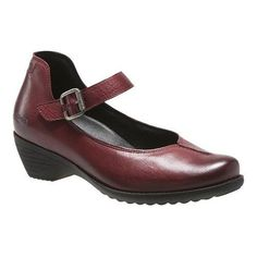 Women's mobils by Mephisto Yvette Mary Jane Oxblood Texas