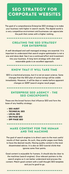 Choosing an effective SEO strategy for corporates is a lot about showing up as or amongst the top results. Search results compete for eyeballs and being at the top is a decisive advantage. Website Structure, Seo Tutorial, On Page Seo, Seo Strategy, Seo Agency, Local Seo, Seo Services, Search Engine Optimization, Digital Media