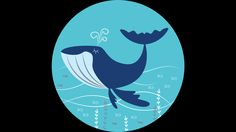 Blue Whale is a T Shirt designed by aglomeradesign to illustrate your life and is available at Design By Humans