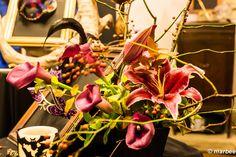 ハロウィーン テーブルに花