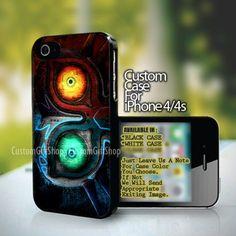 Legend of Zelda Majora Mask Design For iPhone 4/4s Case