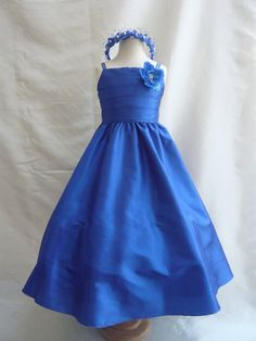 f7953a9b6 royal blue dresses for girls