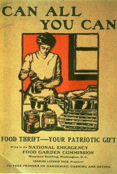 World War II Canning and Gardening Posters